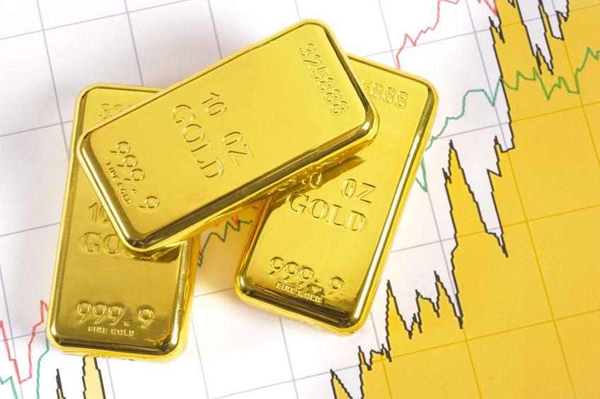 Gold steigend